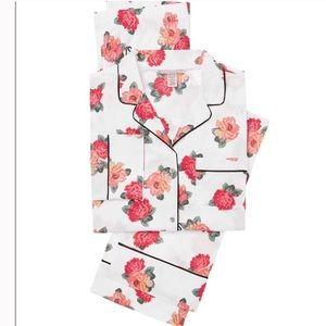 🆕 Victoria Secret White Floral Pajama Set